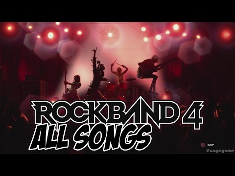 Rock Band 4 - All Songs