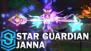 Star Guardian Janna Skin Spotlight - Pre-Release - League of Legends