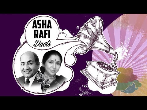 Best Of Mohd Rafi & Asha Bhosle Duets | Evergreen Duet Songs | Top Bollywood Songs