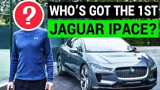 Who Got the First Jaguar IPace Delivery?