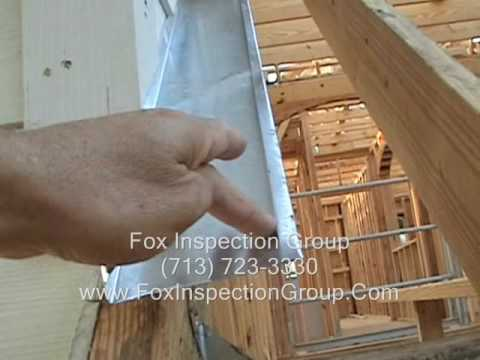 Class Exterior Door Pan Flashing Youtube