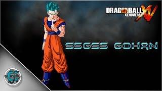 Dragon Ball Xenoverse Character Creation Super Saiyan God Super Saiyan Gohan
