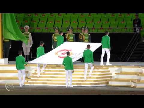 Открытие Азиатских игр,Ashgabat 2017