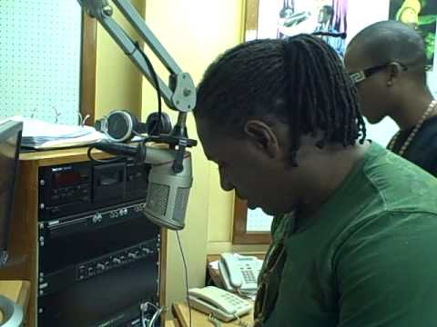 CHARLY BLACK  RADIO INTERVIEW IN GUYANA 2.AVI