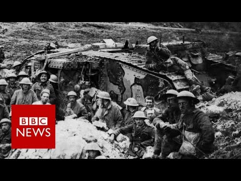 How tanks made debut 100 years ago - BBC News