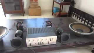 Vintage JBL 001 Loudspeaker System - with 130A + LE175DLH + N1200 - Made in USA