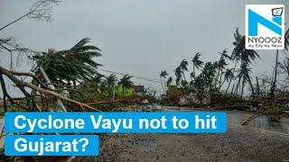 Cyclone Vayu might not hit Gujarat, course changed overnight #CycloneVayu