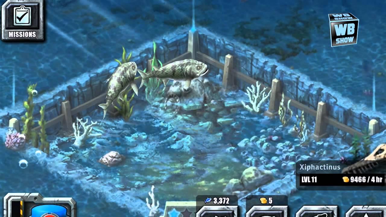Jurassic Park Builder - Xiphactinus [Aquatic Park ...