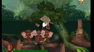 NHẠC THIẾU NHI (Chú voi con ở Bản Đôn )GAME TARZAN LEVER 4