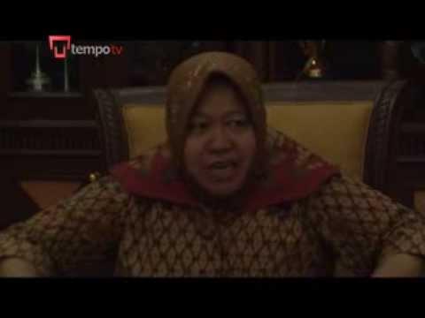 Komplek prostitusi Dolly di Surabaya, Indonesia, disebut-sebut sebagai ...