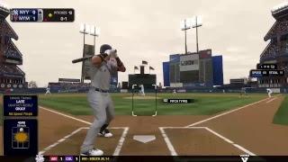 Scoop Dan MLB The show 18 franchise Yankees vs Mets Game 64 Shea Stadium Classic