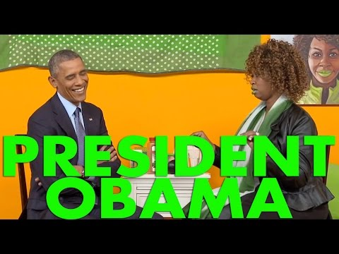 GloZell's Interview with President Obama