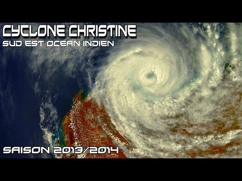 CYCLONE TROPICAL INTENSE CHRISTINE