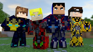 Minecraft: AVENTURA - SOMOS TRANSFORMERS! #4