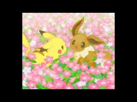 Pikachu And Eevee Love Story