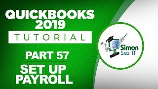 QuickBooks 2019 Training Tutorial Part 57: Set Up Employees for Payroll in QuickBooks