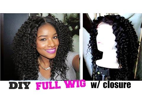 DIY U-Part Wig w/ Closure Fast & Easy