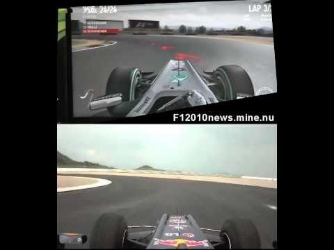 Korea: Real vs Codemasters F1 2010