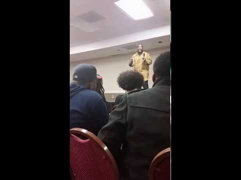 Umar Johnson Q&A: Feminism, LGBTQIA Rights & Ferguson- Kansas City