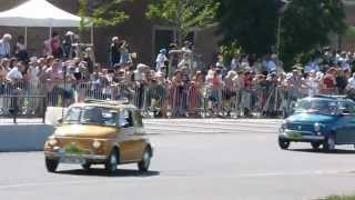 Fiat 500 and Dino Spyder - Festival automobile Mulhouse [HD]