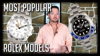 5 Most Popular Rolex Models 2018