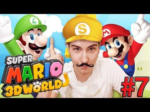 Super Mario 3D World [#7] - Dziewczyna Jasia!