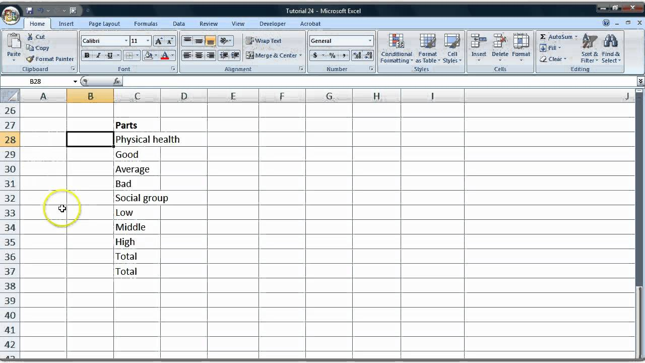 how to create a relative frequency table