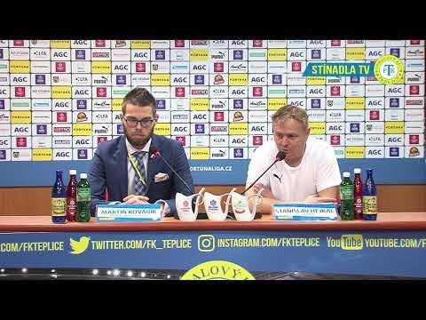 Tisková konference domácího trenéra po utkání Teplice - Ostrava (26.10.2018)