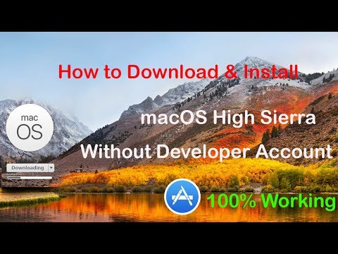 How to Download MacOS High Sierra Without Developer Account