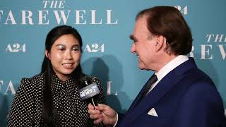 Awkwafina at The Farewell Movie NYC Premiere!