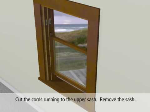 JELD-WEN Vinyl Pocket/Block Frame Replacement Window Installation
