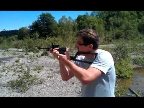 Crosman 2240 Pistol/Carbine - Custom Modded Highly Accurate!