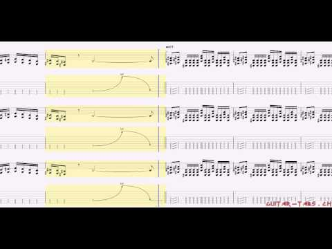 System Of A Down Tabs - B.Y.O.B.