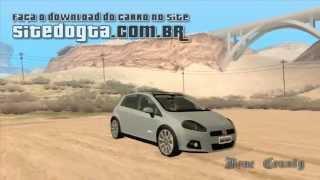 MODs de Carros Brasileiros para GTA San Andreas - Fiat Punto T-Jet 2009
