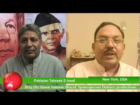 Pakistan Tehreek E Insaf Spokesperson For Defence productions Brig (R) Simon Samson Sharaf !