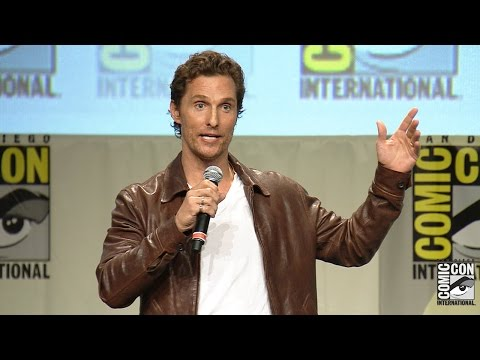 Matthew McConaughey Interstellar Panel - Comic Con 2014