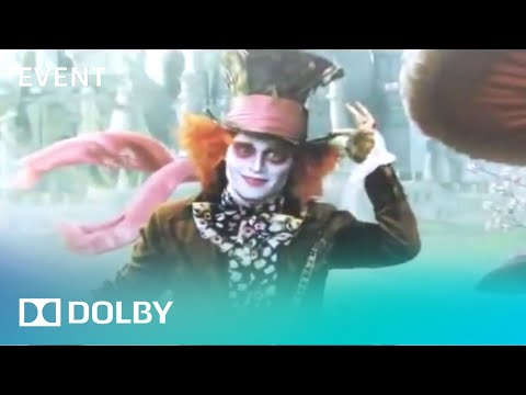 Alice in Wonderland in Dolby 3D San Francisco Premier