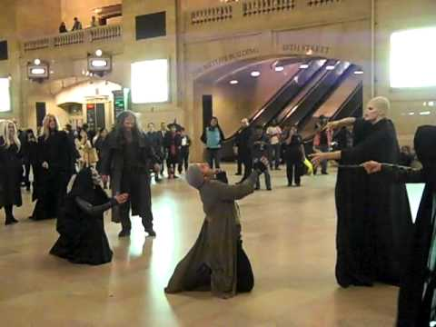 VOLDEMORT & DEATH EATERS TAKE OVER GRAND CENTRAL