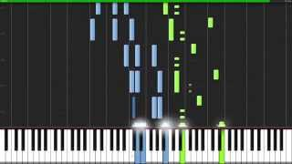 Rage Over a Lost Penny - Ludwig van Beethoven [Piano Tutorial] (Synthesia)