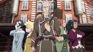 NETFLIX: Sirius the Jaeger | Zwiastun anime (polski dubbing)