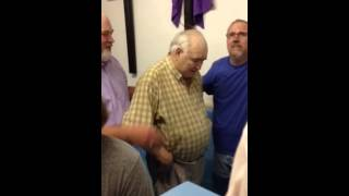 Pastor Paul Begley Baptizes Western In Indiana
