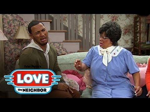 Danny Is Afraid Of His Granny - Tyler Perry's Love Thy Neighbor - Own video