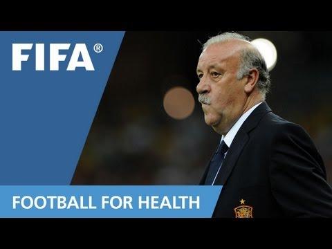 Vincente del Bosque for '11 for Health'