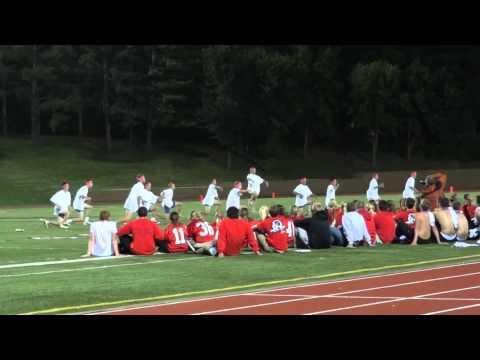 Westside High School Powder Puff Halftime Show