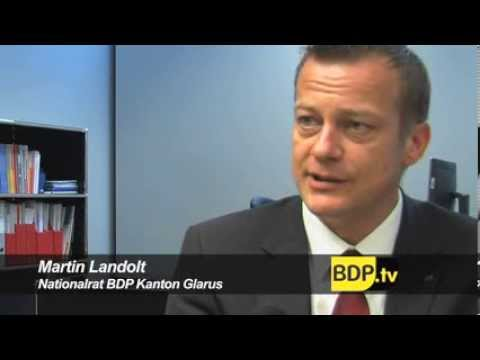 BDP Nationalrat Martin Landolt zum Konjunkturpaket.