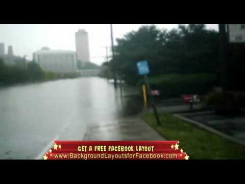 Nashville TN, Big storm floods the whole city Video