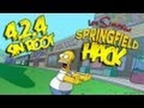 Los Simpsons Springfield Sin root Rosquillas Infinitas ANDROID v4.2.4