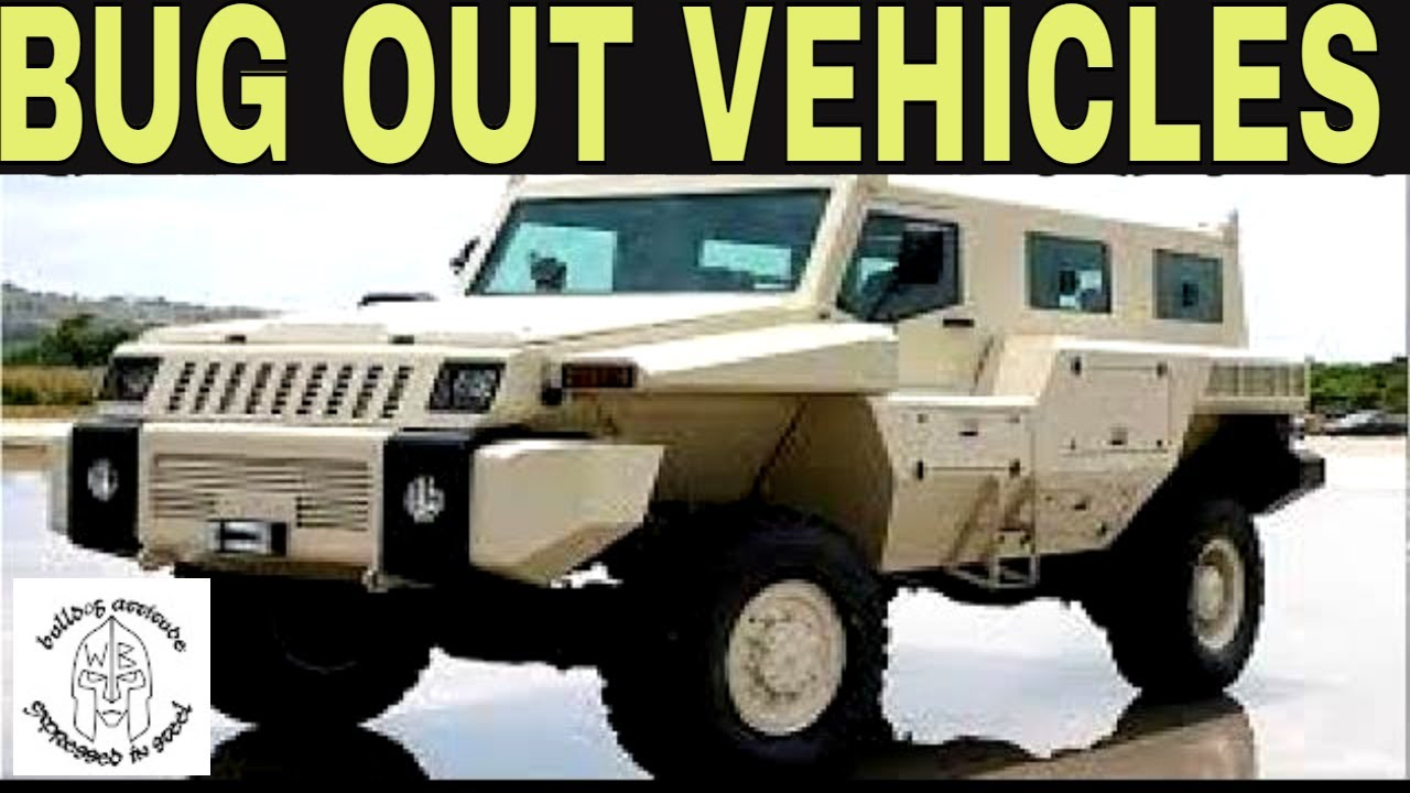 Ultimate Bug Out Vehicle Ideas For SHTF Apocalypse Doomsday YouTube