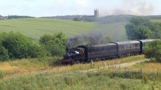 Summer Steam on the Inch Abbey Line - 27th July 2013