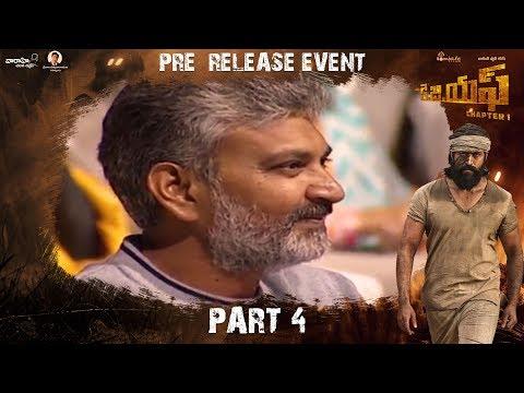KGF (Telugu) Pre Release Event Part 4 | Yash | Srinidhi Shetty | Prashanth Neel